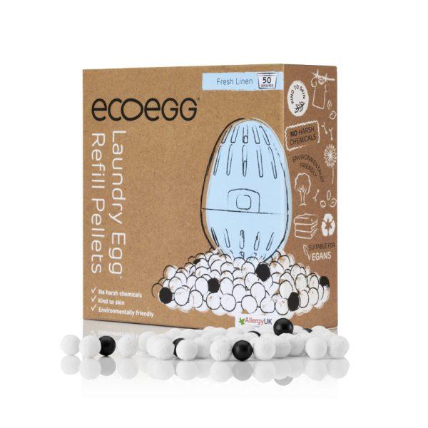 ecoegg Laundry Egg Refill Pellets Fresh Linen