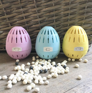 Laundry Eggs with Pellets