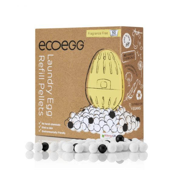 ecoegg Laundry Egg Refill Pellets Fragrance Free
