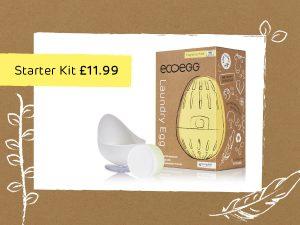 Laundry Egg Starter Kit - Fragrance Free