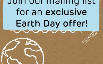 Earth Day Sale Sign Up